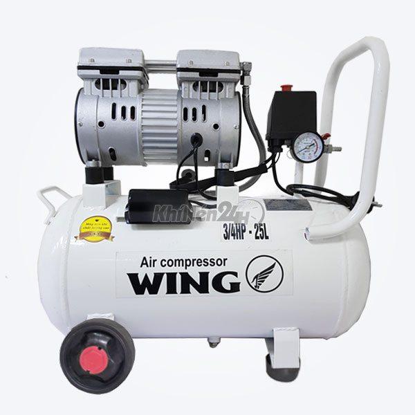 Máy nén khí không dầu giảm âm Wing TW-OF550-25L