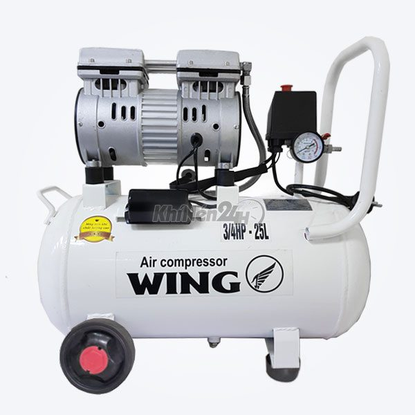 Máy nén khí không dầu giảm âm Wing TW-OF750-25L